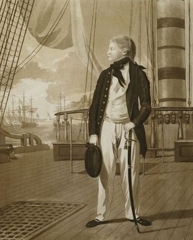 Prince William at sea, 1782