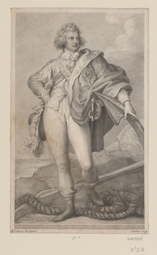 Engraving of William, Duke of Clarence, 1790