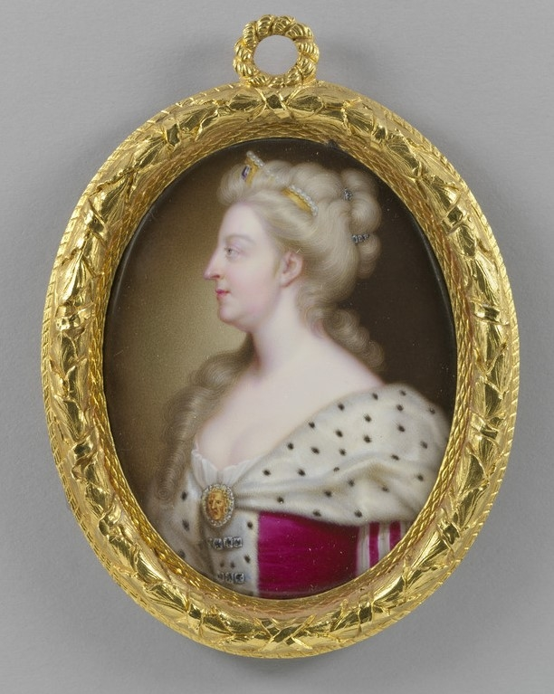 Portrait of Queen Caroline of Ansbach by Christian Friedrich Zincke