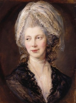 Queen Charlotte by Thomas Gainsborough