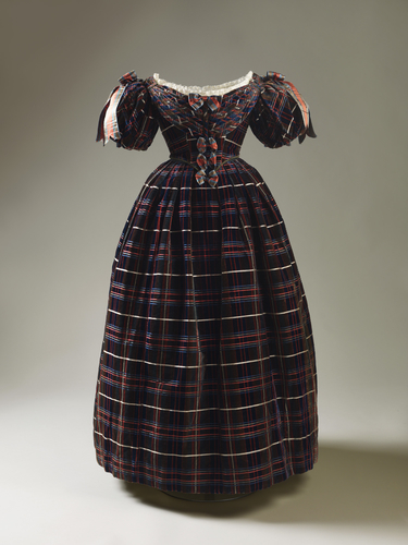 Queen Victoria's tartan dress