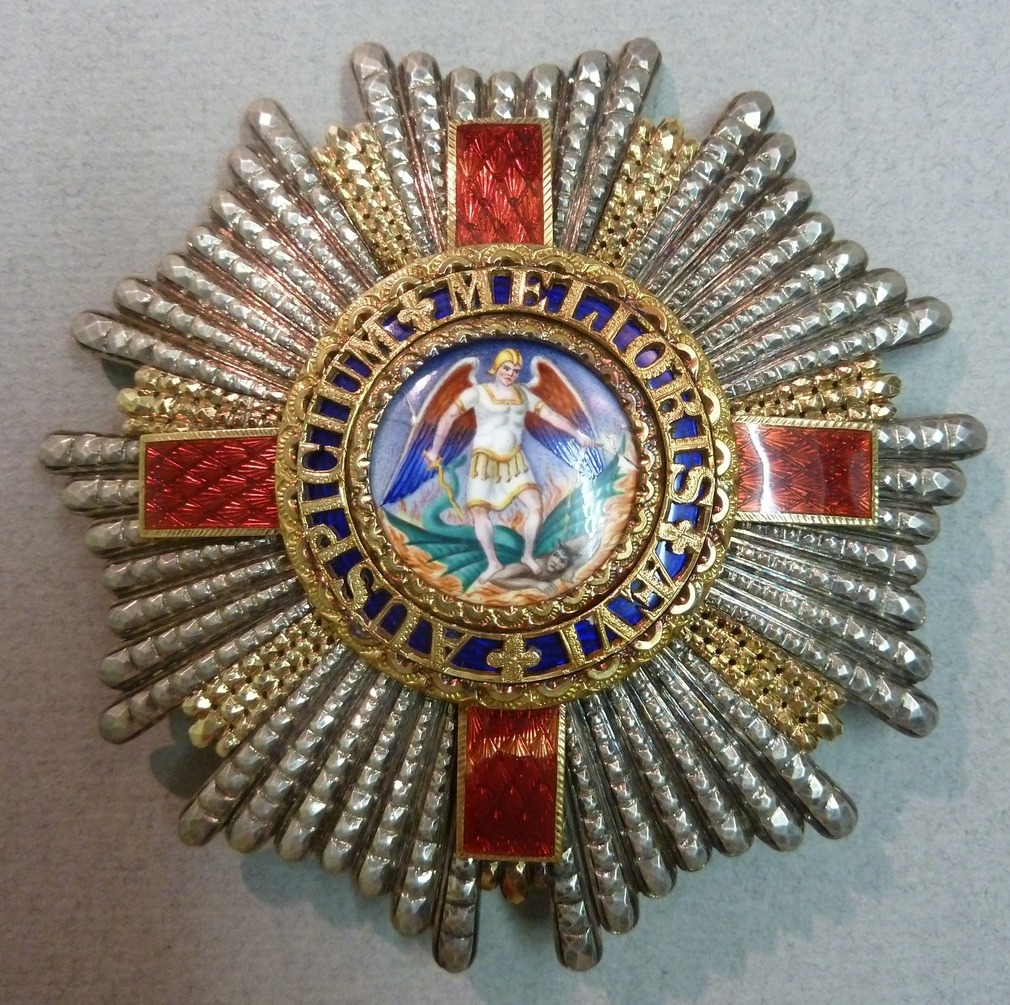 Order of St Michael & St George. The Duke of Connaught's Investiture G. C. M. G. Star