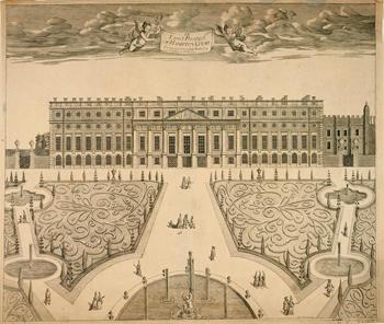 View of Hampton Court