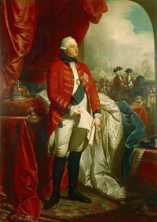 Portrait of George III by Benjamin West