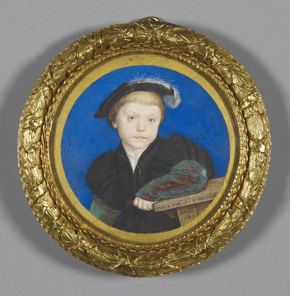 miniature of a child