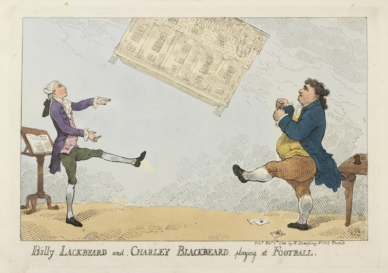 Rowlandson satirical print