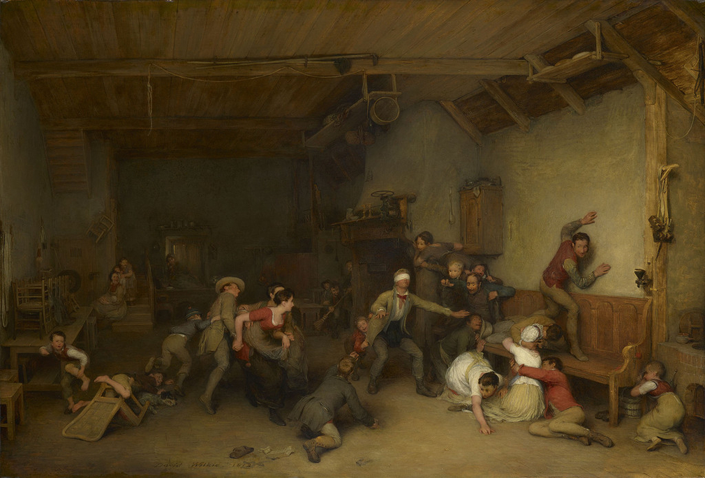 Blind Man's Buff by David Wilkie