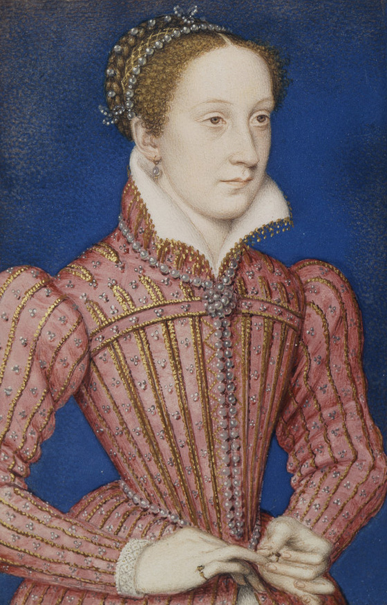 Mary, Queen of Scots, c.1558, by François Clouet.
