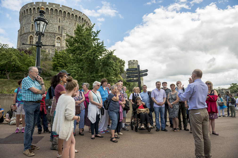 A BSL tour at Windsor Castle