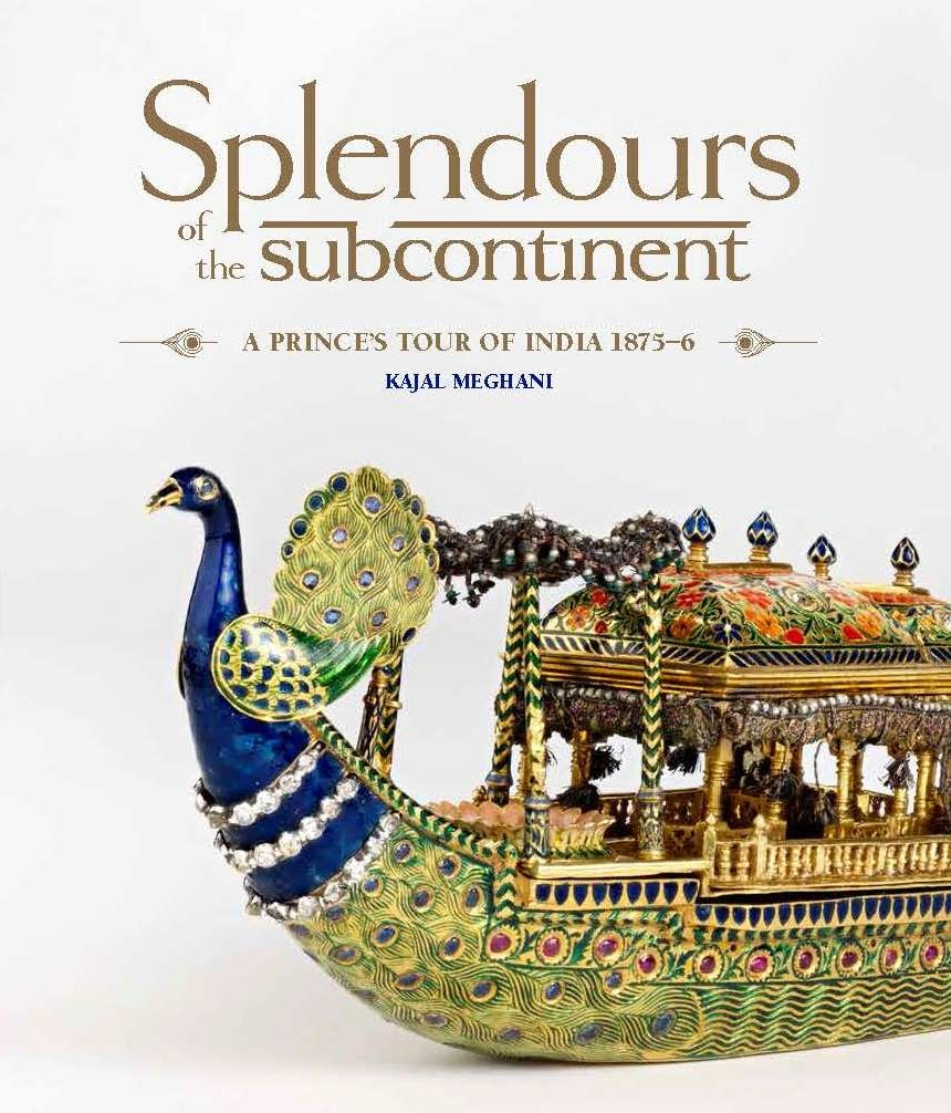 Cover jacket of Splendours of the Subcontinent