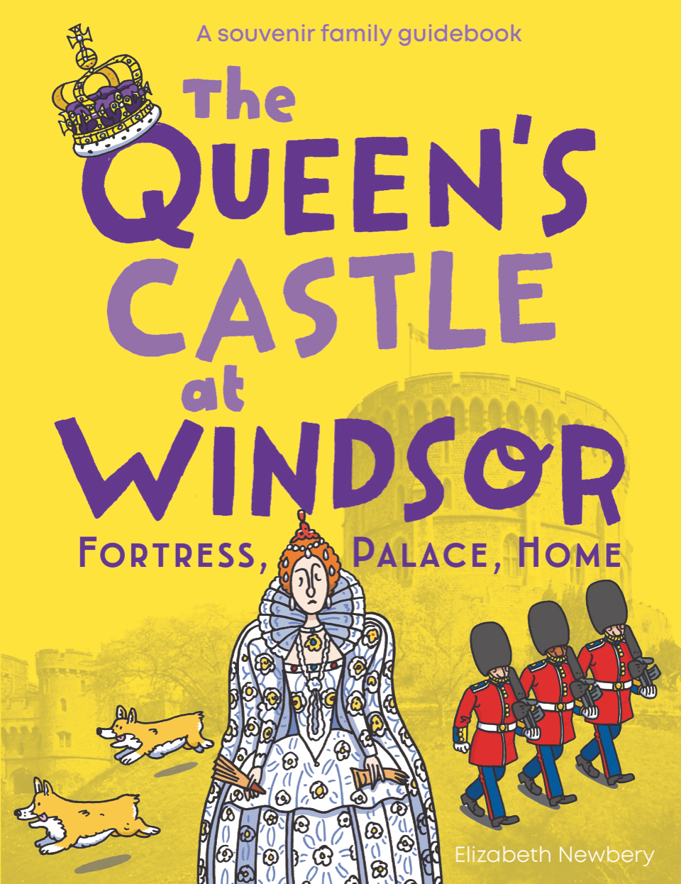 Front cover of the new Windsor Castle children's souvenir guidebook