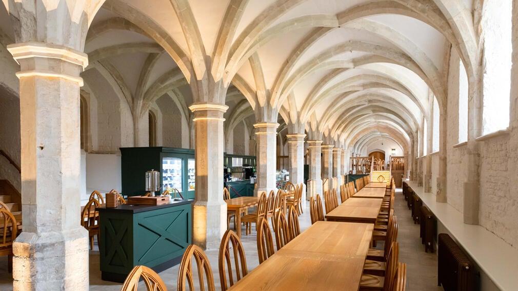 The Undercroft Cafe at Windsor Castle