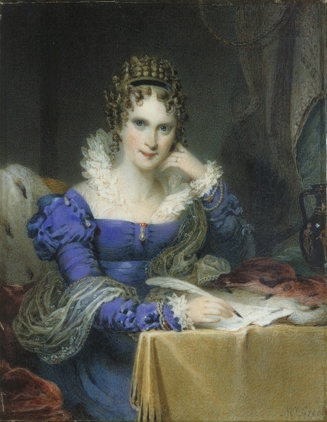 Mrs James Green (1776-1845) portrait of Queen Adelaide (1792-1849), when Duchess of Clarence