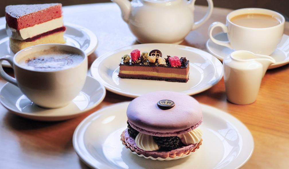 Undercroft Café cakes