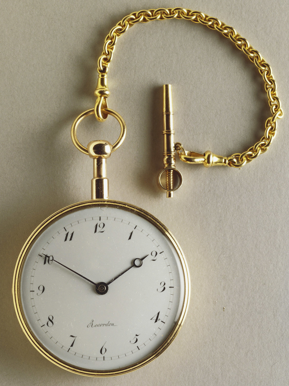 Recordon, Repeating watch with cipher of George III, 1802-03.  RCIN 4712