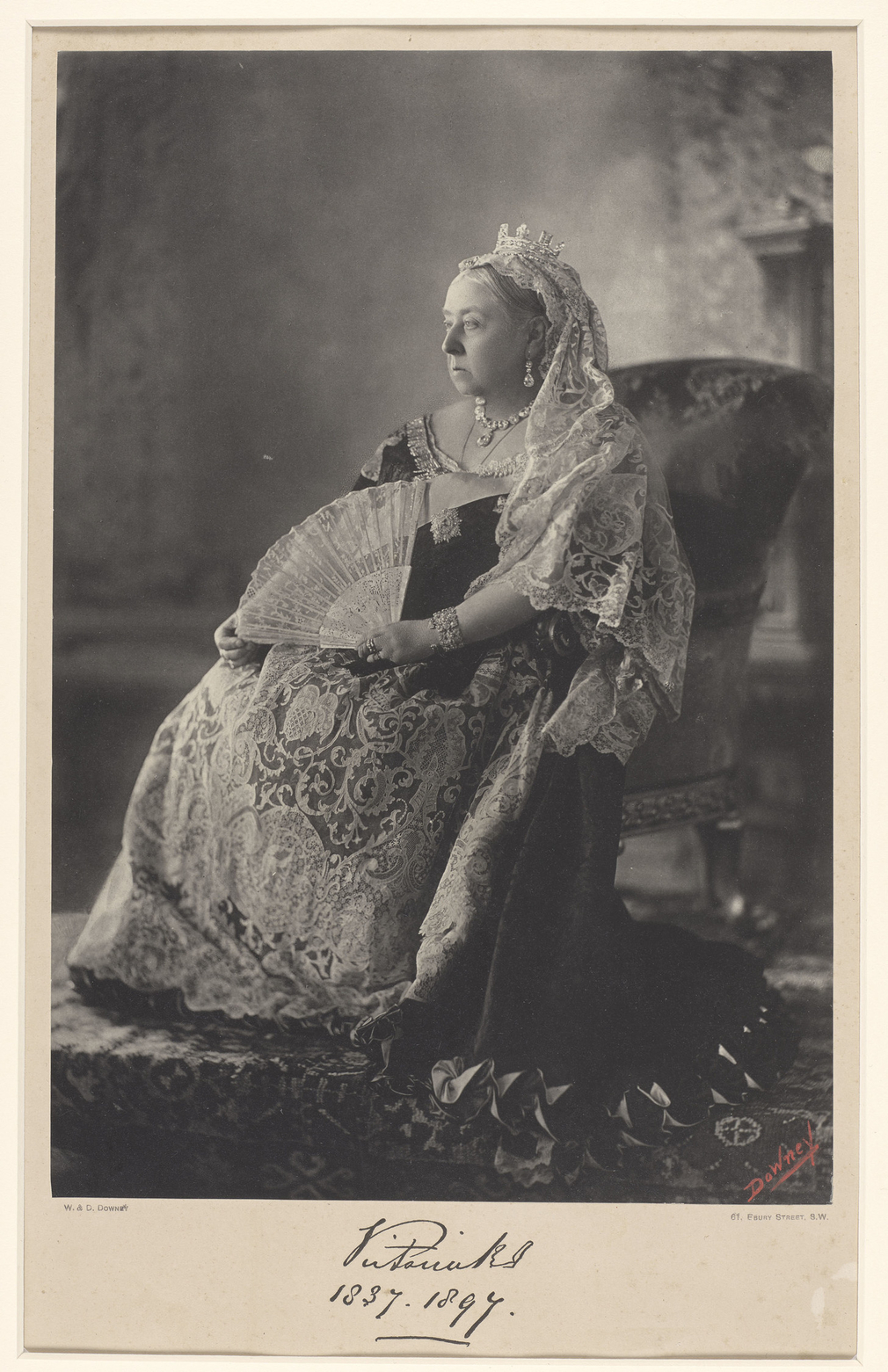Queen Victoria on the occasion of her Diamond Jubilee