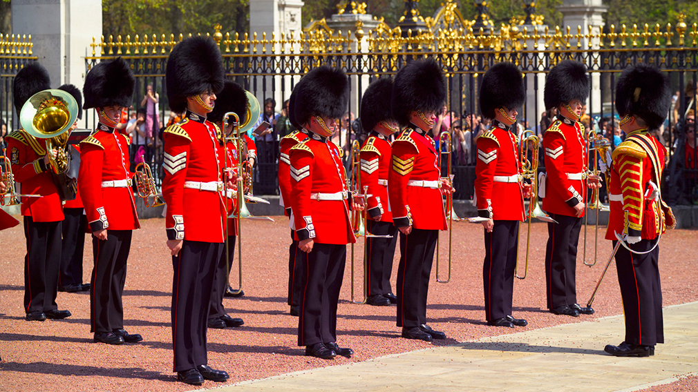 Guard Change at Buckingham Palace