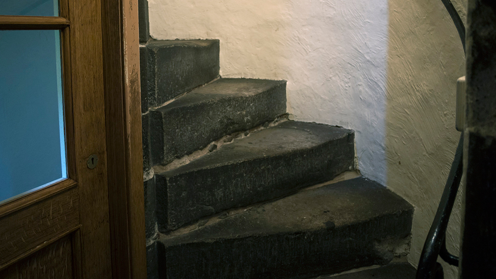 Stairs to Mary, Queen of Scots' Chambers