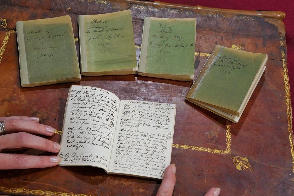 Queen Charlotte's diaries