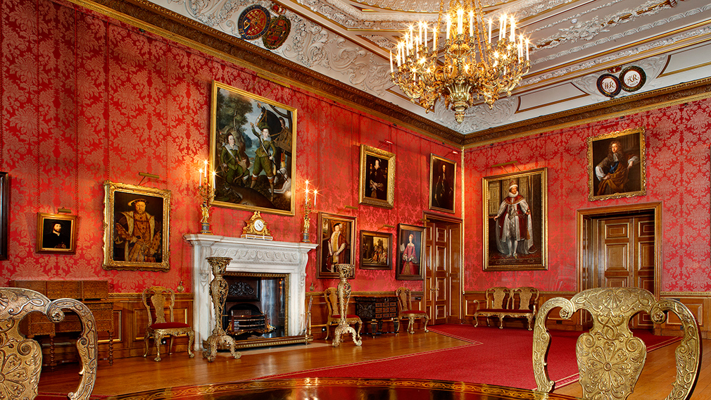 The Queen's Drawing Room at Windsor Castle