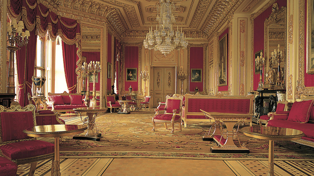 Semi state rooms open at windsor castle for Interieur windsor