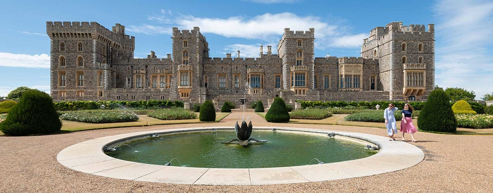 East Terrace Garden, Windsor Castle