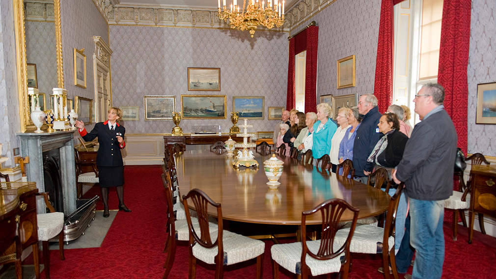 Group visit to Frogmore House