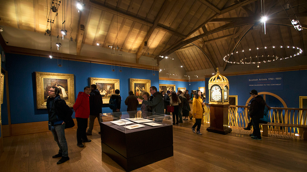Group visit to The Queen's Gallery, Palace of Holyroodhouse