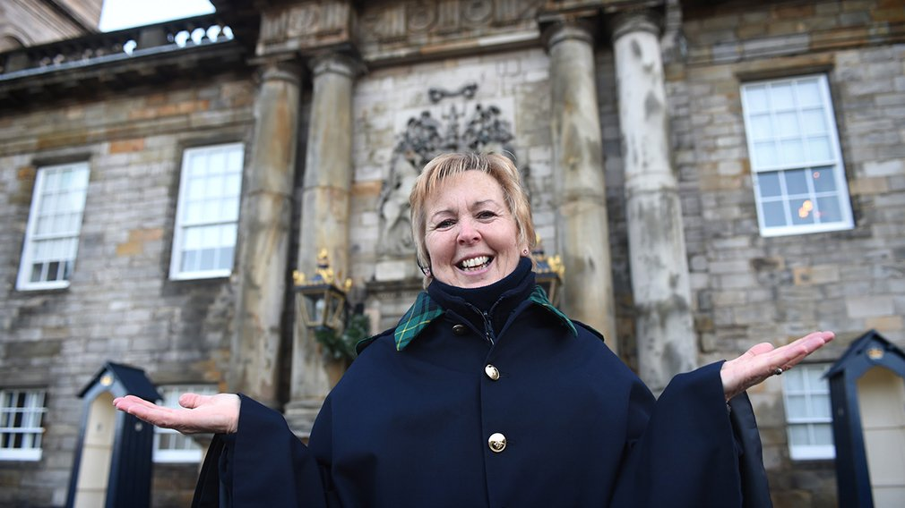 Warden at Palace of Holyroodhouse