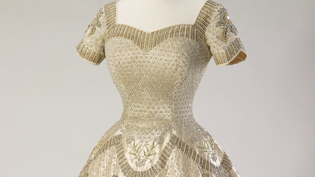 The Queens wedding and Coronation dresses to be displayed...