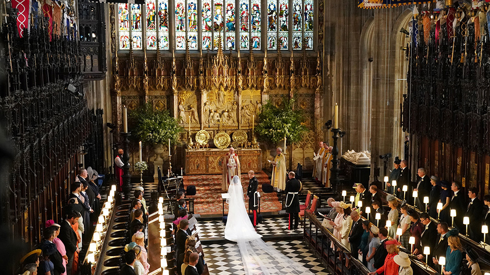 The Chapel was the location of the wedding of HRH Prince Harry and Ms Meghan Markle
