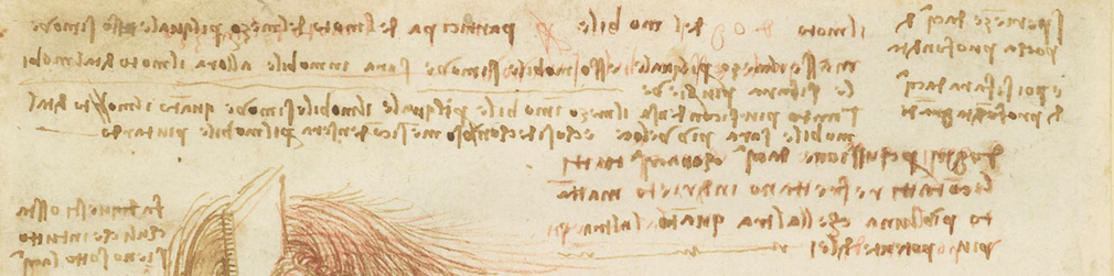 Leonardo da Vinci's writing