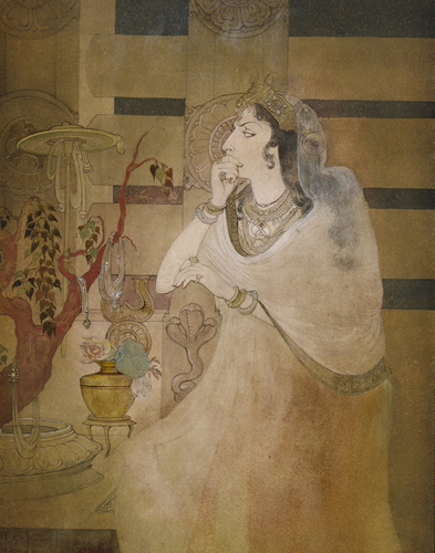 Tissarakshita, Queen of Asoka