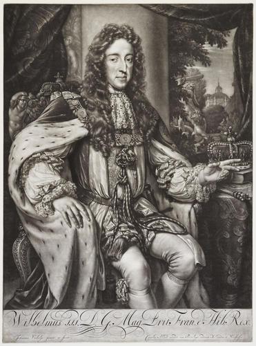 Wilhelmus III. D. G. Mag. Brit. Fran. et Hib. Rex