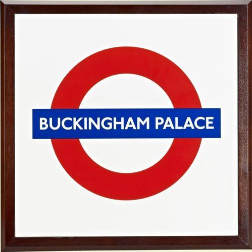 London Underground station roundel