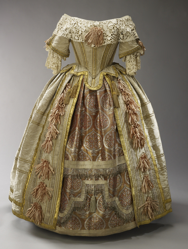 Queen Victoria's Costume for the Stuart Ball