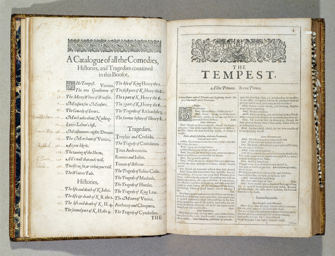 Comedies, histories and tragedies, published according to the true originall copies / William Shakespeare
