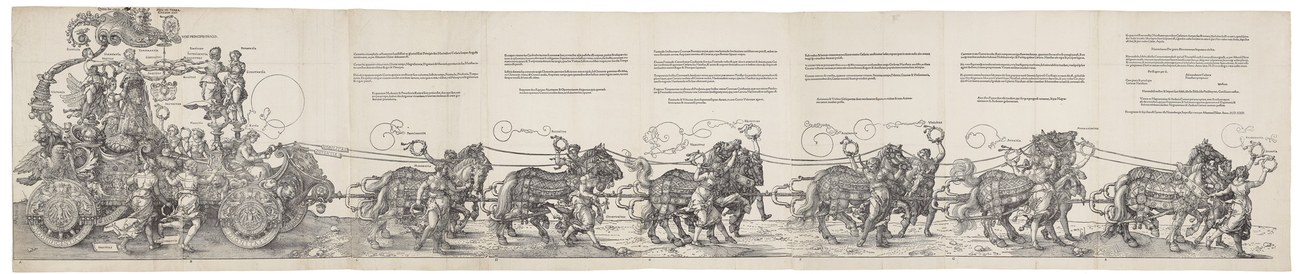 The Triumphal Cart of the Emperor Maximilian