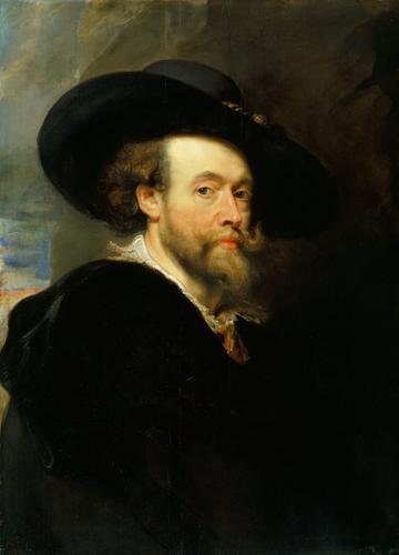 Self Portrait 1623 by Peter Paul Rubens