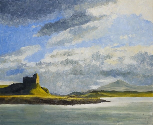 Duart Castle from the Sound of Mull