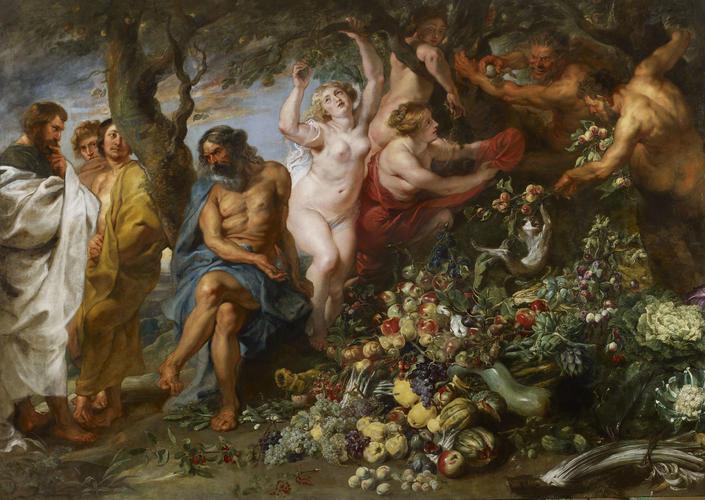 Pythagoras Advocating Vegetarianism