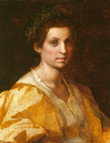 Portrait of a Woman in Yellow