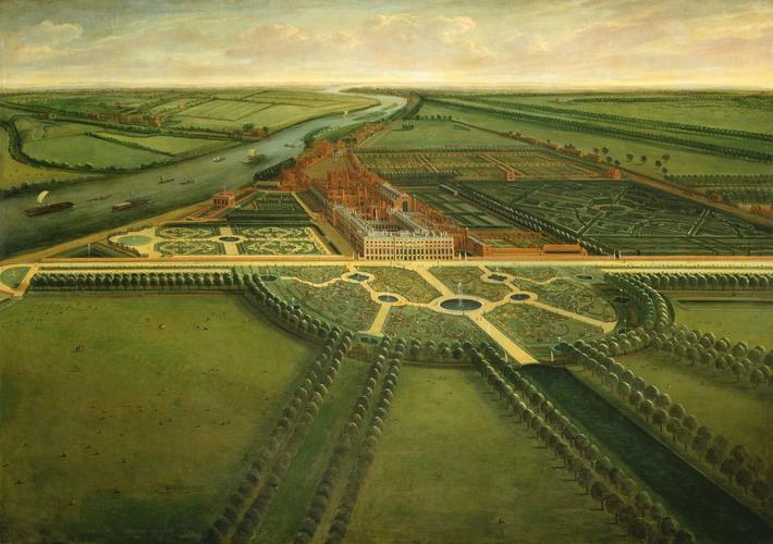A View of Hampton Court