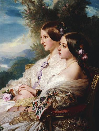 The Cousins: Queen Victoria (1819-1901) and Victoire, Duchesse de Nemours (1822-57)