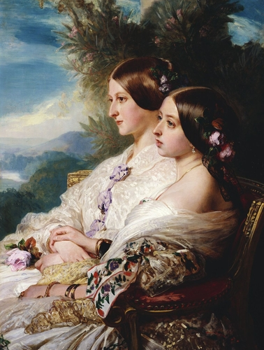 The Cousins: Queen Victoria (1819-1901) and Victoire, Duchesse de Nemours (1822-57)