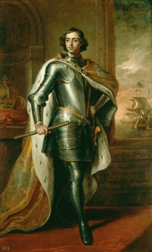 Peter the Great, Tsar of Russia (1672-1725)