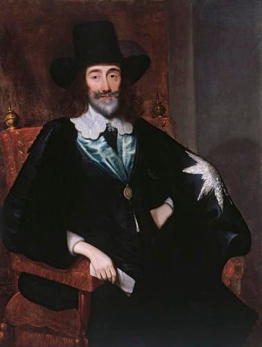 Charles I (1600-1649) at his Trial