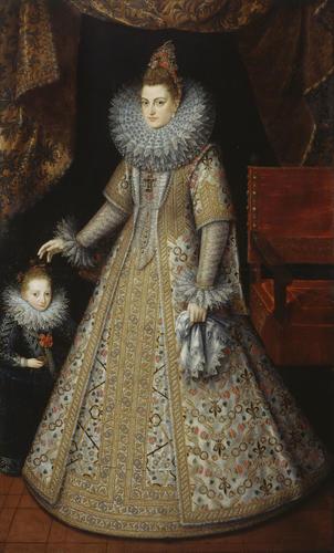 The Infanta Isabella Clara Eugenia (1566-1633), Archduchess of Austria
