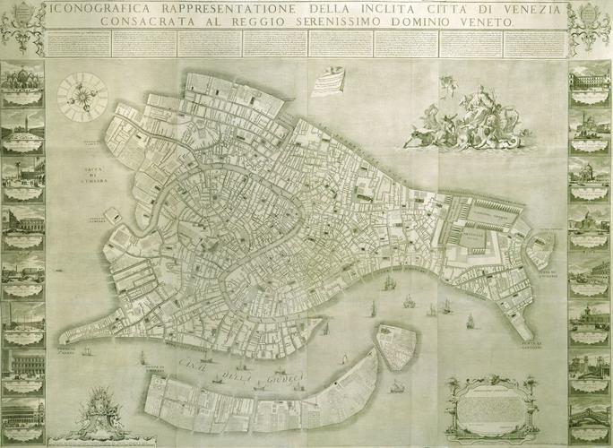 Iconografica rappresentatione della inclita citta di Venezia