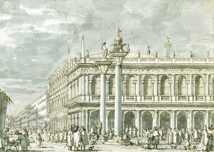 Venice: The Libreria from the Molo